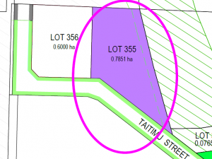 Lot 355, TAURIKO BUSINESS ESTATE, NORTH EDGE FACE - Industrial For Sale
