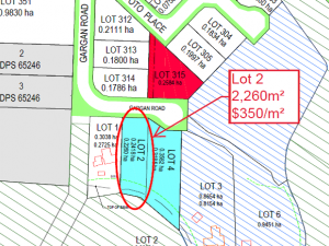 LOT 2 - EXPANSIVE EASTERLY OUTLOOK - Industrial / Land/Development Site For Sale