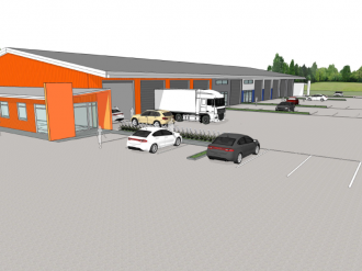 New Plymouth Commercial Property For Lease Taranaki: Taranaki's new Transport Hub - Industrial / Warehouse For Lease